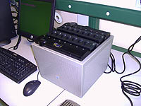 Equipo de PCR Cuantitativa en 16 tubos independientes de 25 ó 100 ml