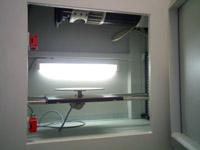 Cabina de irradiación de rayos X