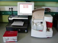 Analizador de hematología mediante láser. Modelo Lasercyte. Idexx Laboratories
